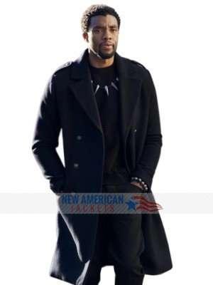 Avengers Infinity Wars Black Panther Wool Coat