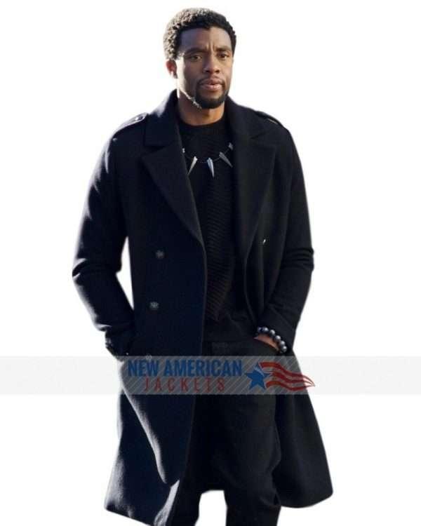 Chadwick Boseman Avengers Infinity Wars Black Panther Coat