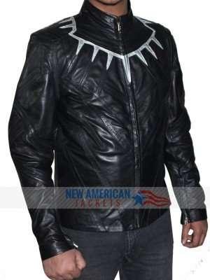 Avengers Infinity War Chadwick Boseman Black Panther Jacket