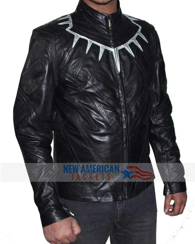 Avengers Infinity War Black Panther Jacket New American