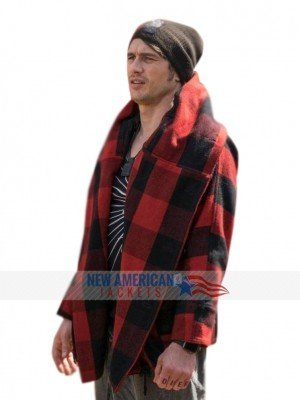 James Franco Why Him Red Plaid Jacket