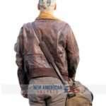 James Franco Zeroville Brown Leather Jacket