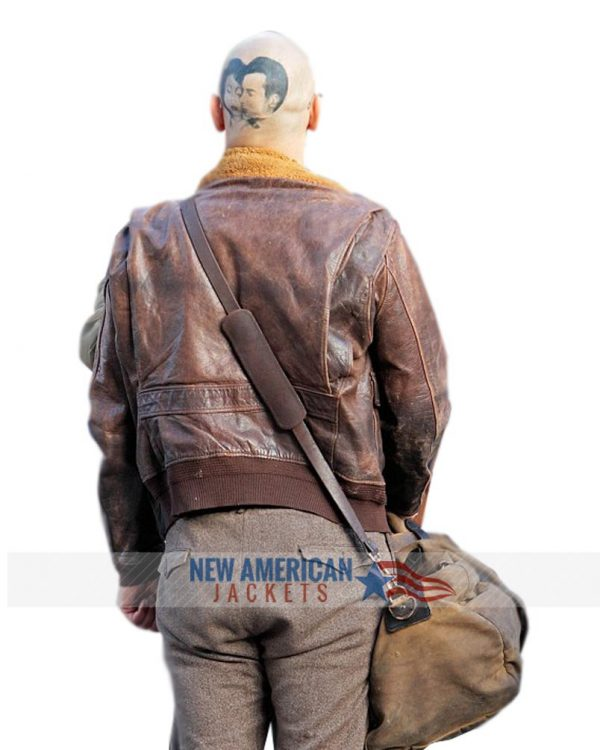 James Franco Zeroville Brown Leather Jacket