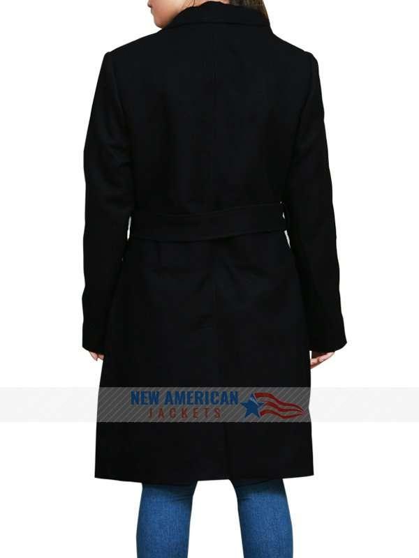 Jennifer Lawrence Red Sparrow Black Coat