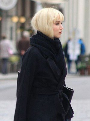 Jennifer Lawrence Red Sparrow Trench Coat
