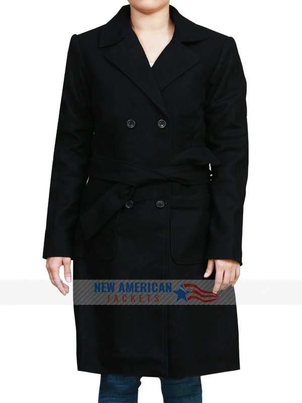 Jennifer Lawrence Wool Coat