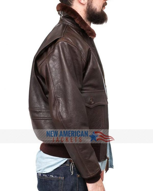 John f Kennedy Leather Jacket