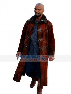 Robin Hood Little John Suede Leather Coat