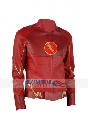 The Flash Barry Allen Red Jacket