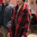 Why Him James Franco Red Plaid Jacket