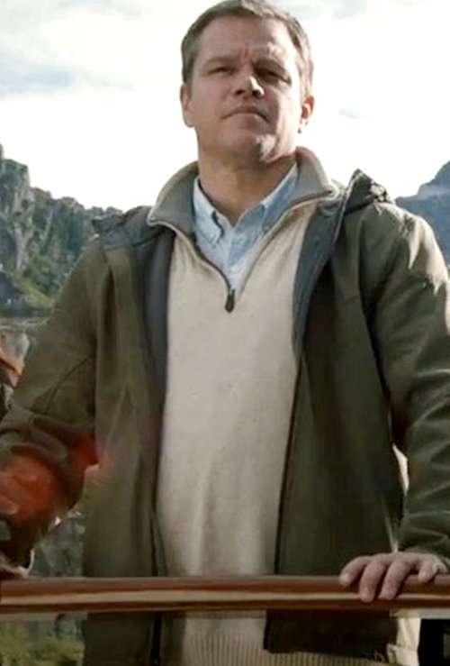 matt dawon jacket downsizing