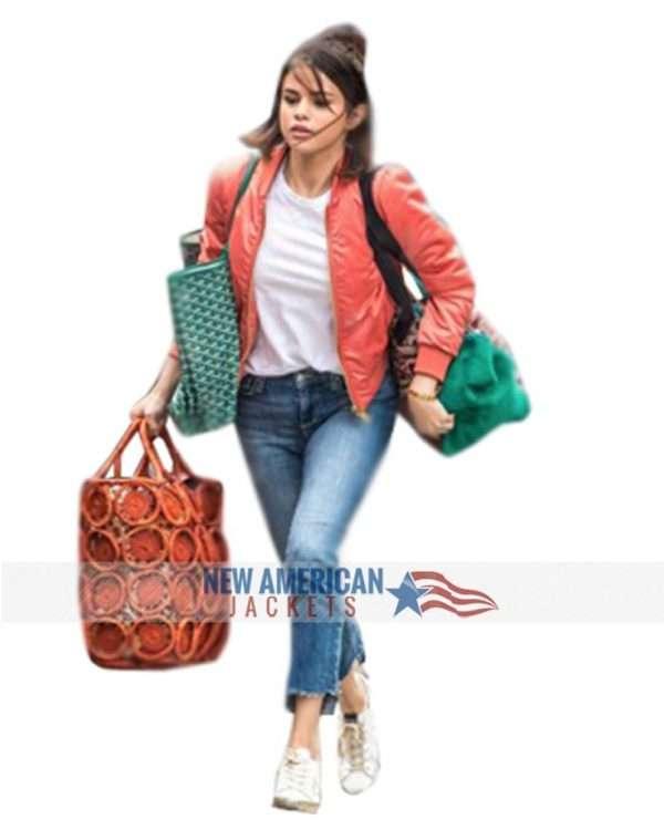 A Rainy Day In New York Selena Gomez Jacket