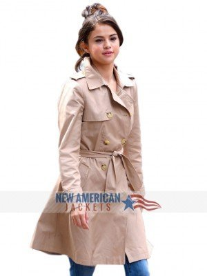 Selena Gomez Trench Coat
