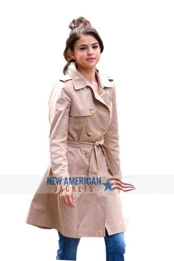 A Rainy Day In New York Selena Gomez Trench Coat