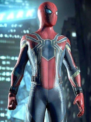 Spiderman Armor Infinity War Jacket