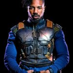 Black Panther Michael B Jordan Vest