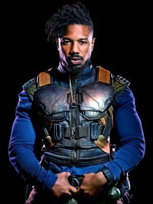Black Panther Michael B Jordan Vest