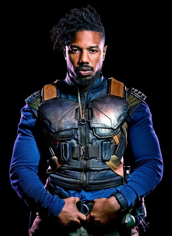 3e20361780e4 Black Panther Michael B Jordan Vest · Black Panther Erik Killmonger ...