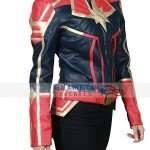 Captain Marvel Costume Jacket