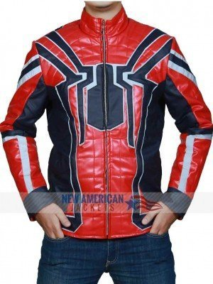 Spiderman Armor Avengers Infinity War Jacket