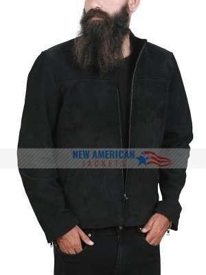 Ethan Hunt Tom Cruise MI6 Suede Leather Jacket