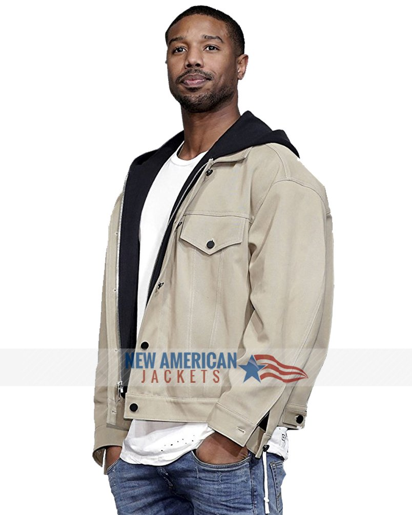 0eec28776e4e Black Panther Michael B Jordan Hoodie Jacket - New American Jackets