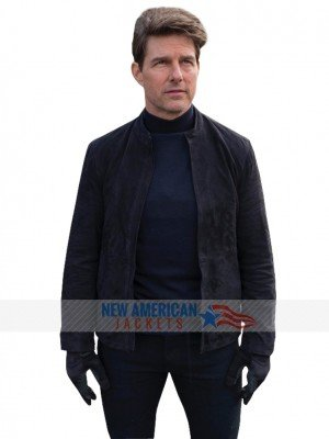 Mission Impossible 6 Suede Leather Jacket