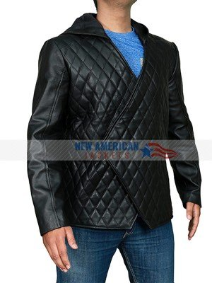Robin Hood Black Quilted Jacket