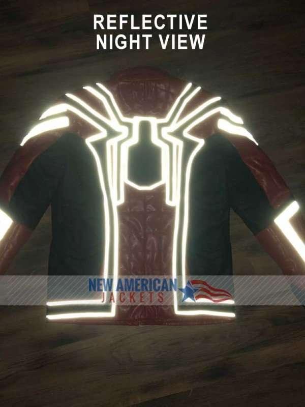 Spidrman Infinity War Leather Jacket