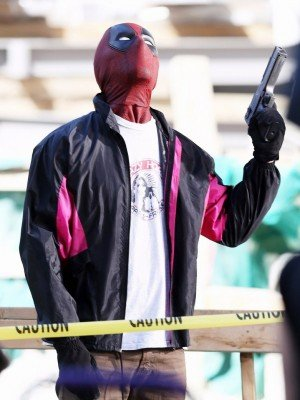 Wields a Gun Deadpool 2 Jacket