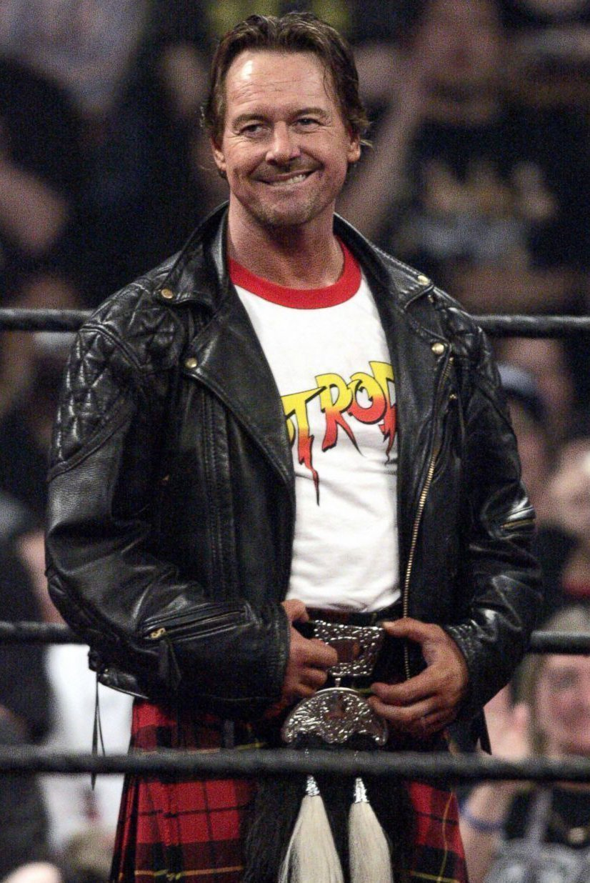 Rowdy Roddy Piper Leather Jacket New American Jackets