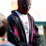 wields a gun ryan reynolds deadpool 2 jacket