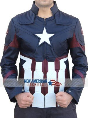 Captain America Civil War Chris Evans Jacket