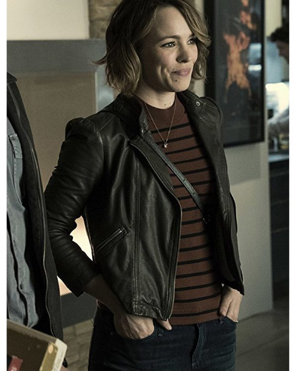 Game Night Rachel McAdams Leather Jacket