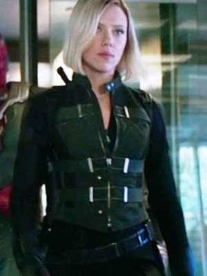 Infinity War Natasha Romanoff Black Widow Vest