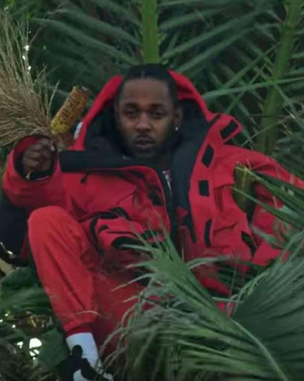 Kings Dead Kendrick Lamar Red Jacket