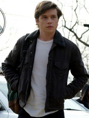 Nick Robinson Black Denim Jacket