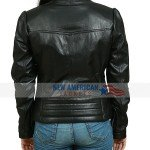Rachel McAdams Black Leather Jacket