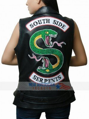 Riverdale Southside Serpents Leather Vest