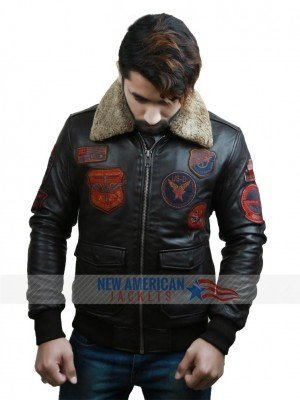 Tom Cruise Bomber Flight Jacket