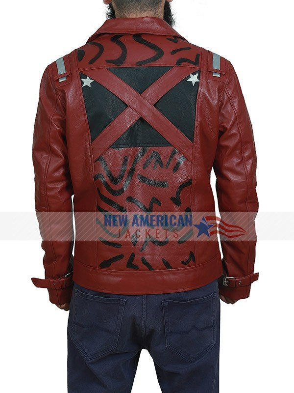 Travis Touchdown No More Heroes Leather Jacket