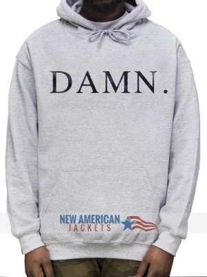 Kendrick Lamar Damn Grey Hoodie