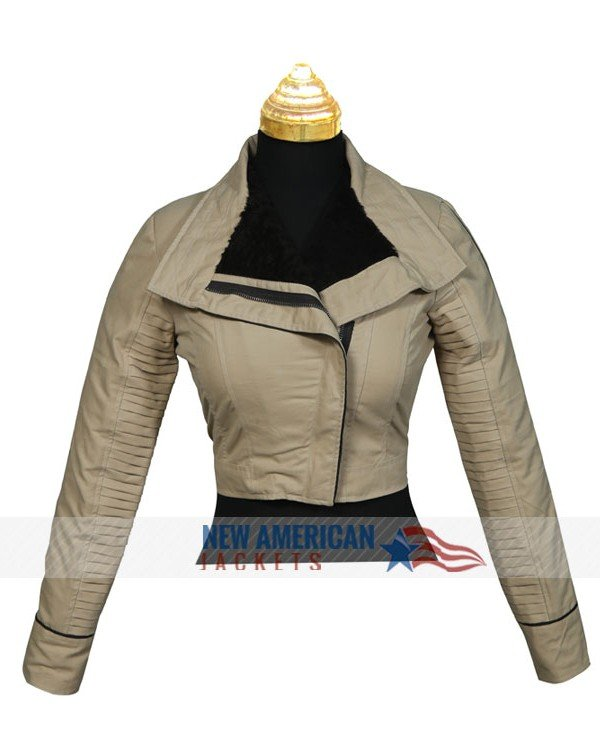 A Solo Star Wars Emilia Clarke Jacket