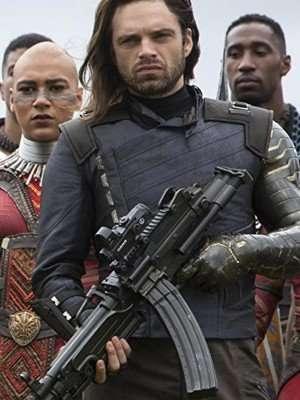 Avengers Infinity War Sebastian Stan Jacket