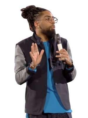 French Comedy Star Fary Black Jacket