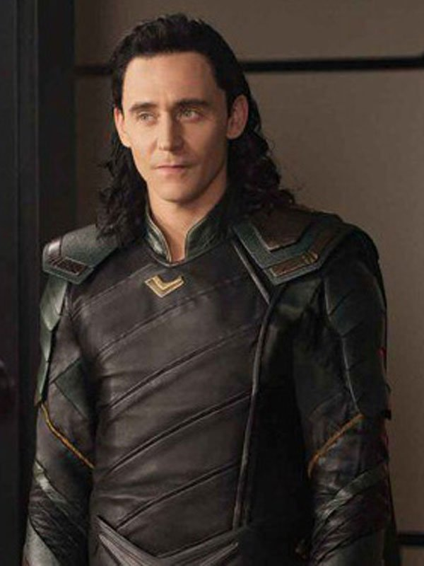 Loki Avengers Infinity War Leather Jacket