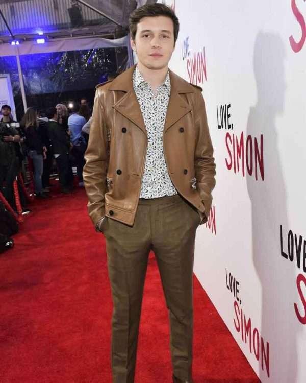 Love Simon Nick Robinson Premiere Jacket