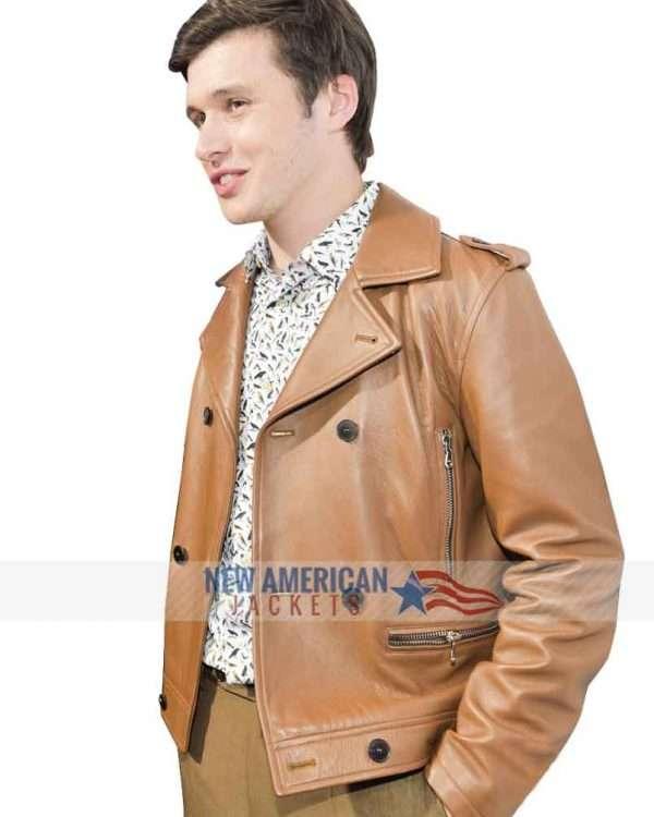 Love Simon Premiere Brown Jacket