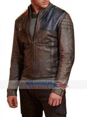 Seg-El Krypton Leather Jacket