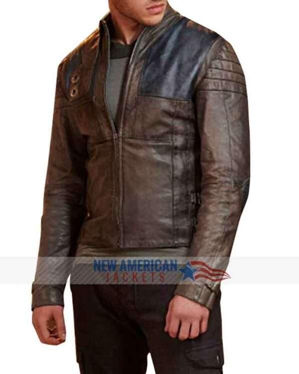 Seg El Krypton Leather Jacket
